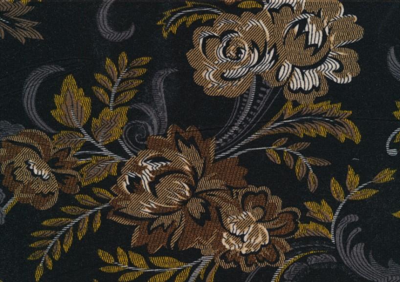 T5653 Viscosetrikå blommor