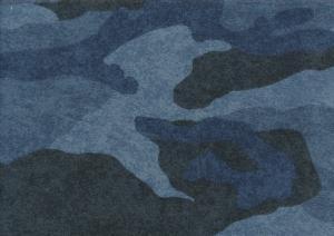 T5679 Sweatshirt Fabric Camouflage blue