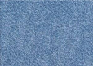 T5684 Sweatshirt Fabric Denim Pattern light blue