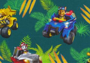 T5696 Jersey Fabric Paw Patrol Leaves