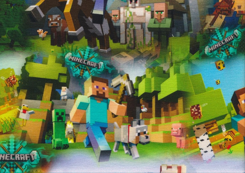 T5720 Joggingtyg Minecraft