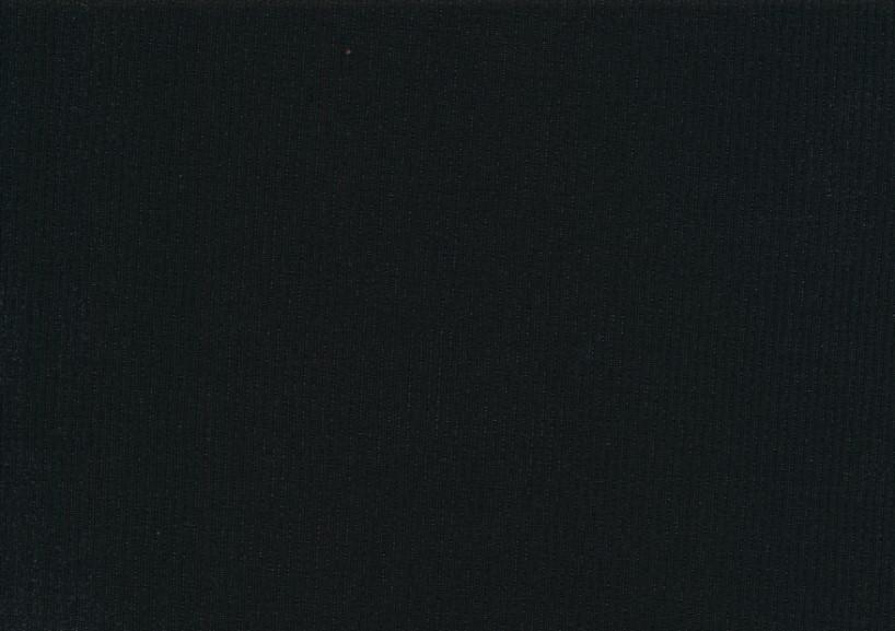 T5738 Ribbad trikå svart