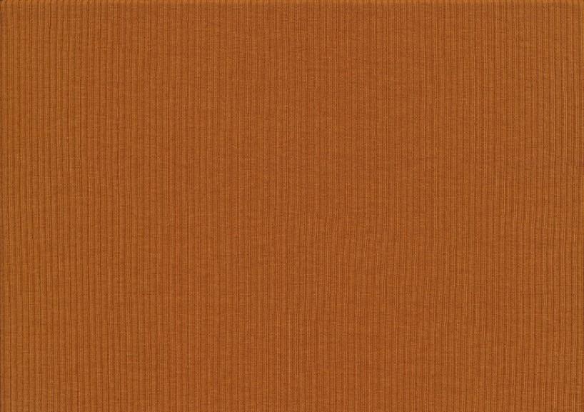 T5738 Ribbad trikå mellanbrun