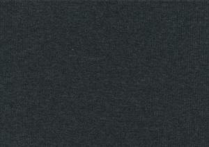 T5738 Ribbad trikå mörkgrå melerad