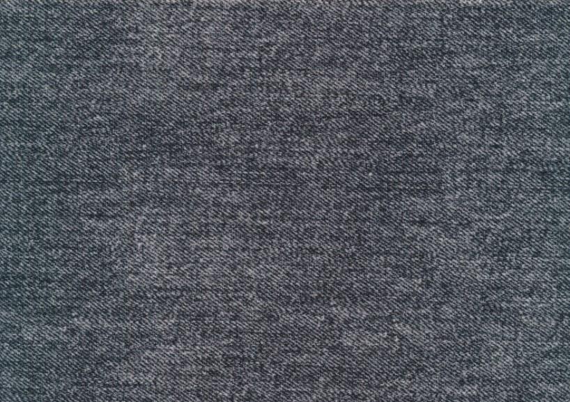 T5769 Trikå Jeansmönster mörkgrå