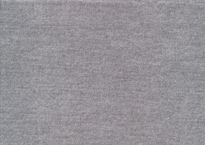 T5769 Trikå Jeansmönster ljusgrå