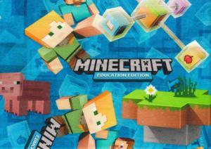 T5782 Joggingtyg Minecraft blå