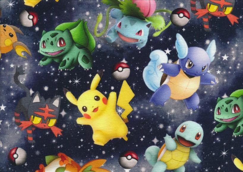 T5796 Joggingtyg Pokemon och stjärnor
