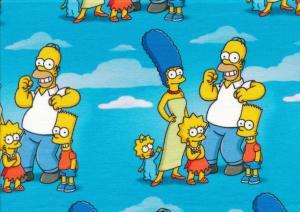 T5798 Joggingtyg The Simpsons