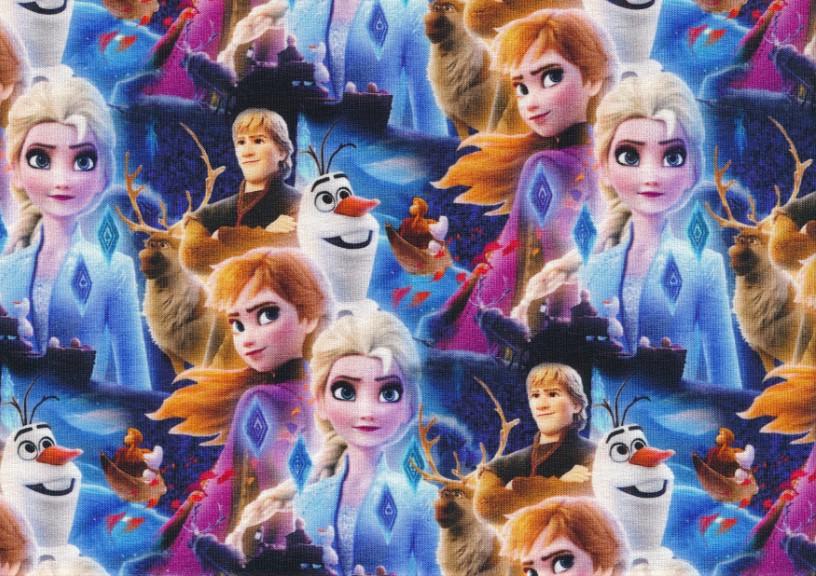 T5814 Joggingtyg Frost Elsa med vänner