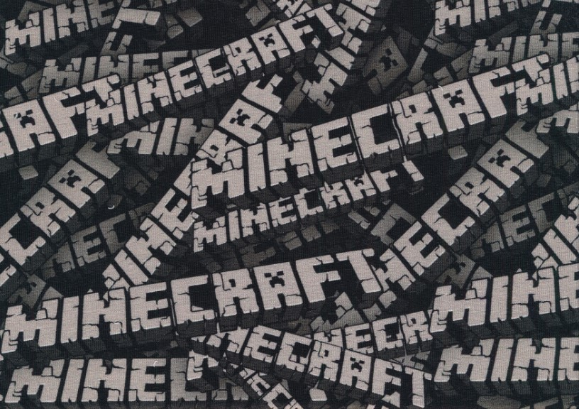 T6099 Joggingtyg Minecraft bokstäver