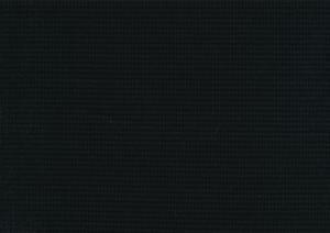 T6111 Våfflad trikå svart