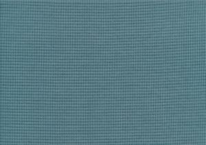 T6111 Våfflad trikå blågrön