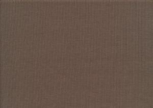 T6127 Ribbstickad trikå mörkbrun