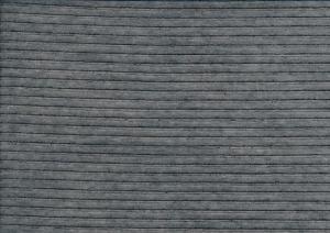 T6136 Velour manchester mörkgrå melerad