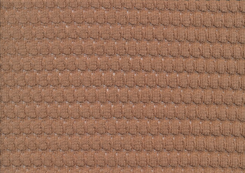 T6153 Stickad Bubbles taupe
