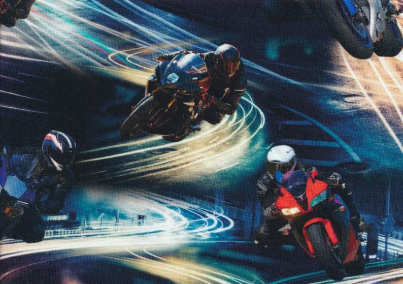 T6156 Trikå Motorcyklar