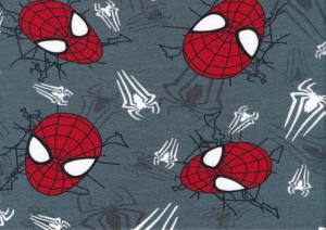 T6158 Joggingtyg Spindelmannens mask grå