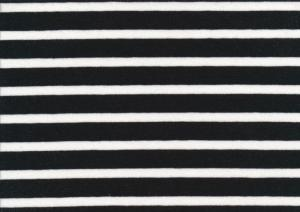 T970 Jersey Fabric Stripe black/white