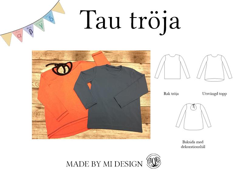 Tau tröja D-storlek - Made by Mi
