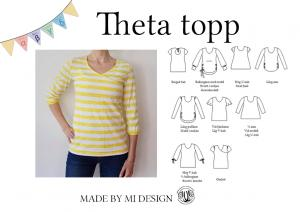 Theta topp - Made by Mi