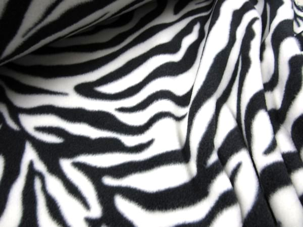 Fleece zebra