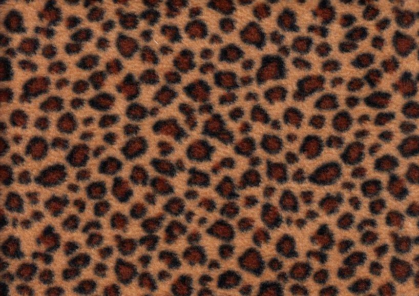 U169 Fleece leopard