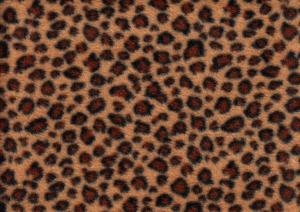 U169 Fleece Fabric Leopard