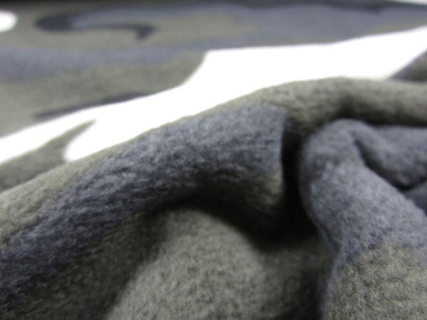 Fleece kamouflage mörkgrå