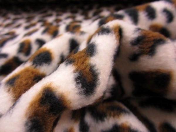 Fleece snöleopard