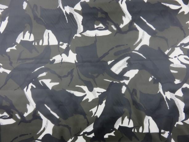Ripstop kamouflage svart