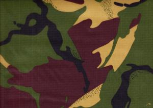 Ripstop Fabric camouflage green