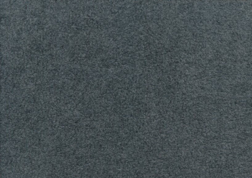 Fleece mörkgrå melerad