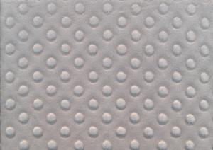 U3000 Minky Fabric Dots grey