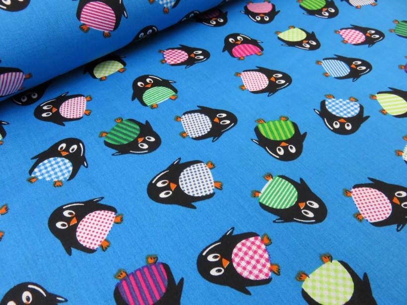 Poplin pingvin mörkturkos