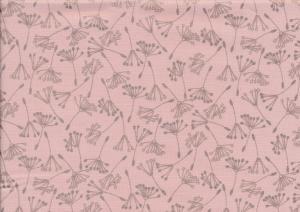 Cotton fabric Wishful blush