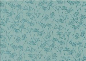 Cotton fabric Wishful teal