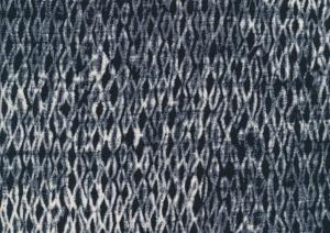 Wowen Viscose Patterned dark blue