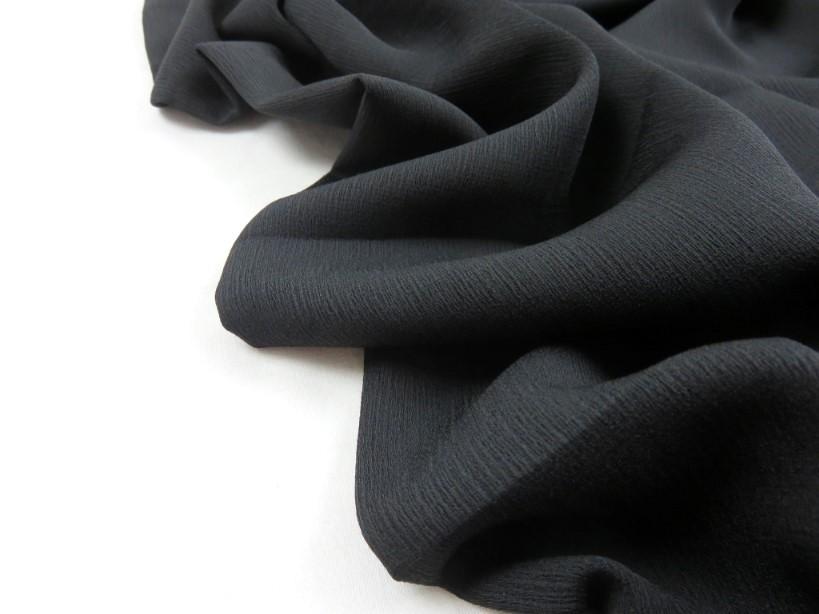 Vävd polyester svart