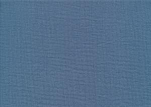 Double Gauze Muslin Fabric jeans blue