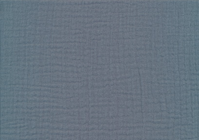 V646 Muslin jeansblå