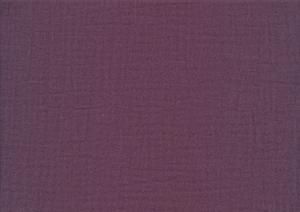 V646 Double Gauze Muslin Fabric purple