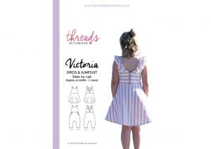 Victoria Dress and Jumpsuit - Threads by Caroline