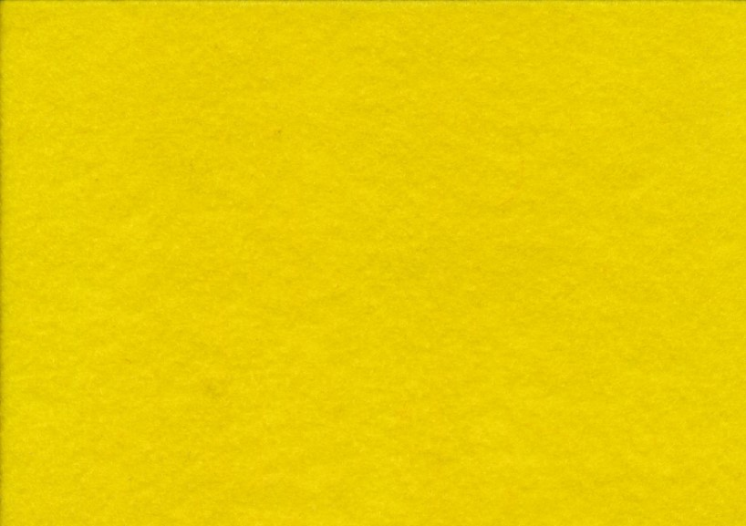 Hobbyfilt gul (20 x 30 cm)
