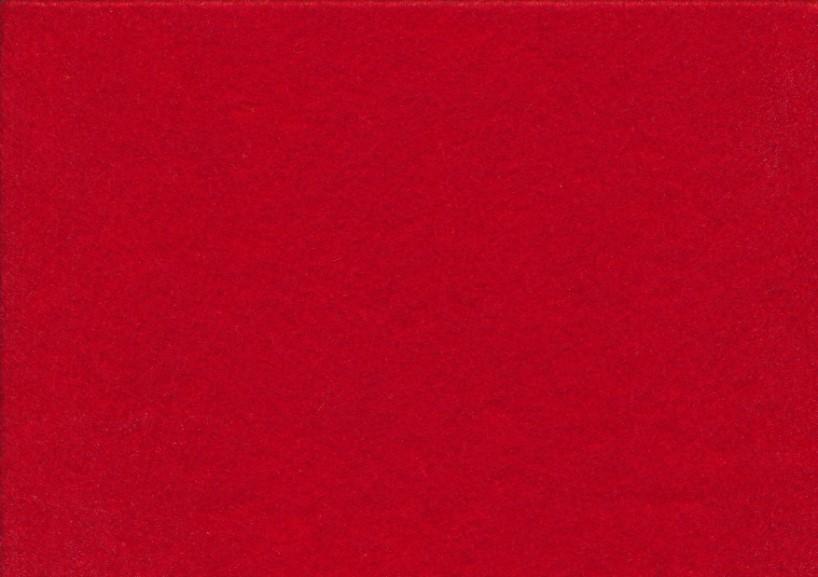 Hobbyfilt röd (20 x 30 cm)