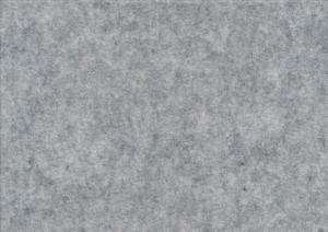 Felt fabric light grey melange (20 x 30 cm)
