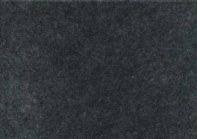 Felt fabric dark grey melange (20 x 30 cm)