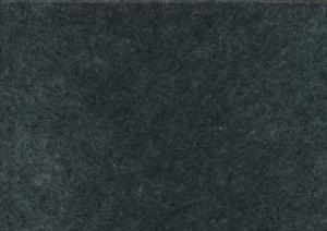 Felt fabric dark grey melange (20 x 30 cm)
