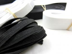 Y501 Pack - Knit Elastic black/white (150 g)