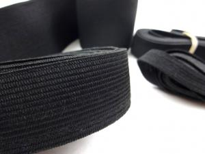 Y501 Pack - Knit Elastic black (150 g)